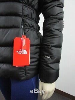 Tn-o Femmes The North Face Tnf Gotham Jacket II 550 Vers Le Bas D'hiver Veste Noire