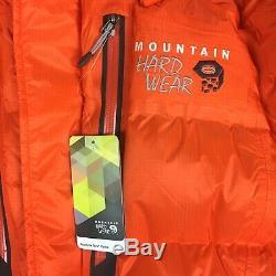 Tn-o Mountain Hardwear Absolute Zero Grande Goose Down Jacket Parka Pdsf 800 $ Nouveau