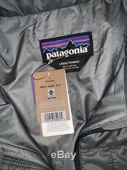 Tn-o Patagonia Nano Puff Hommes Veste Manteau Casual Randonnée Cave Gris 199 $ Large