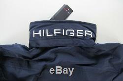 Tommy Hilfiger Men Yacht Veste Coupe-vent Waterstop Bleu Marine M Moyen Nwt
