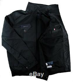 Tommy Hilfiger Men Yacht Veste Coupe-vent Waterstop Noir XL X-grand Nwt
