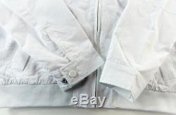 Tommy Hilfiger Men Yacht Yachting Veste Coupe-vent Waterstop Blanc 2xl XXL