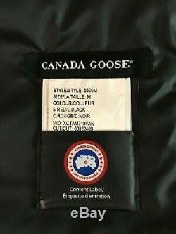 Tout Neuf Canada Goose Brookvale Hommes Veste 5500m Rouge Taille M De