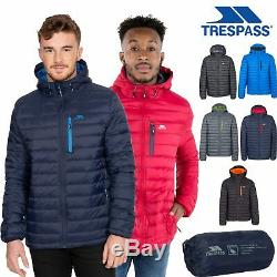 Trespass Hommes Packaway Bas Veste Légère Matelassée Manteau Digby Xxs-xxl