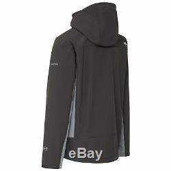 Trespass Strathy II Hommes Veste Softshell Respirant Et Manteau Imperméable Avec Capuche