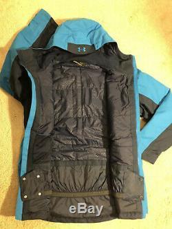 Under Armour Navigation D'hiver Ski Snowboard Manteau Veste Bleu Nouveau Hommes De Grand 200 $
