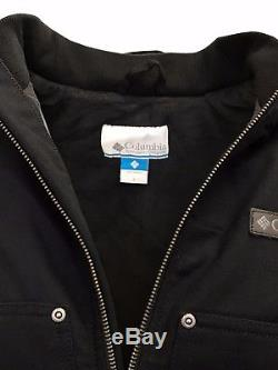 Veste À Capuche Doublée En Molleton Columbia Pour Hommes De Black Loma Vista (au Détail De 160 $)
