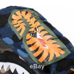 Veste À Capuche + Pantalon Chemise Manteau Camo Bape Lovers Shark Bathing Ape De Jogger