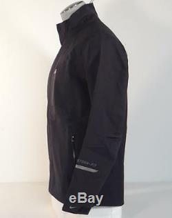 Veste Coupe-vent Imperméable Noire Nike Golf Storm Fit N-destrukt Pour Homme - Tn-o. 400 $