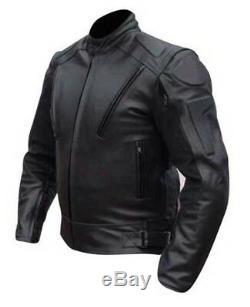 Veste D'armure En Cuir Fendu Pour Moto De Motocyclette Pour Homme