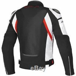 Veste Dainese Sp-r Super Vitesse Tex Noire / Blanche / Rouge Moto Moto