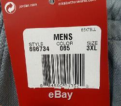 Veste De Costume De Basket-ball Nike Air Jordan Dri-fit + Pantalon Gris Frais Nouveau (taille 3xl)