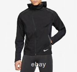 Veste De Course Nike Zonal Aeroshield Homme Bv4858-011 Medium Black