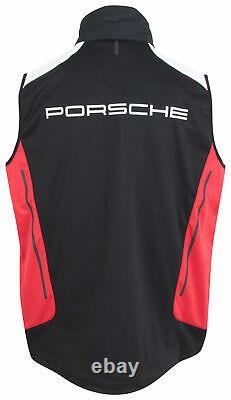 Veste De Gilet Pour Homme Porsche Motorsport Noir