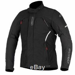 Veste De Moto En Textile Imperméable Alpinestars Ares Gore-tex Gtx Noir Vente