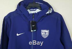 Veste De Soccer Nike Us, Équipe De Football, Coupe Ajustée, Bleu, Rare 643850-423 (taille Xl)