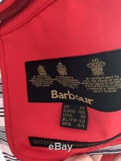 Veste Imperméable Barbour Trevorse Pour Femme, Taille 14, Neuve