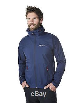 Veste Imperméable Pour Homme Berghaus Stormcloud 21191 / R14 Dusk / Dusk Nouveau