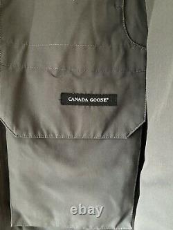 Veste Mens Canada Goose Expedition En Gris, Taille Large. Manteau D'hiver 100% Authentique