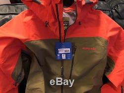 Veste Patagonia Primo Haute Qualité Gore-tex Pro Shell Hommes Moyenne Pdsf $ 549