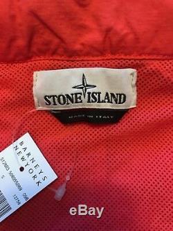 Veste Stone Island Harrington En Corail, Taille S, Fabriquée En Italie, Neuve Avec Étiquettes