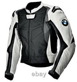 Vestes De Moto Bmw Biker Racing En Cuir Moto Sports Armor Adultes Veste