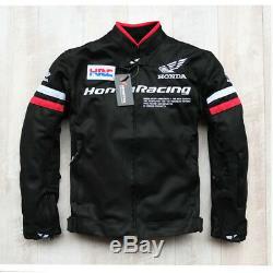 Vestes Moto Hors Route Vêtement De Protection Respirante Pour Honda Mesh Riding Nouveau