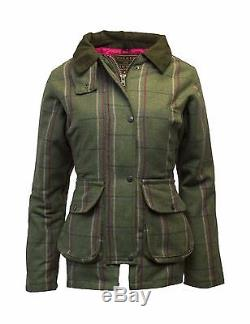 Walker & Hawkes Veste De Chasse Derby Tweed Chasse Country 8-24 Rayures Rose