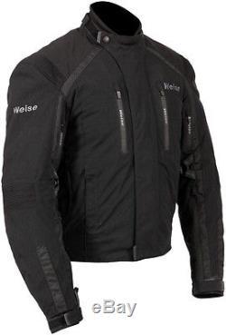 Weise Onyx Gt Veste De Moto En Textile Imperméable Noir Pour Homme Nouveau Pvc 239,99 €